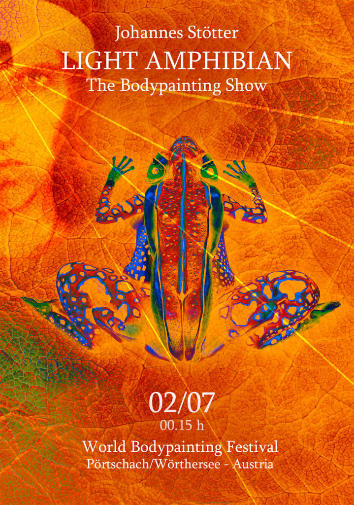 bodypainting show at wbf