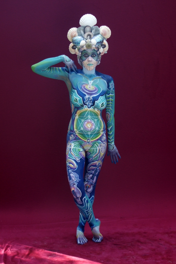 Body Painting Woman